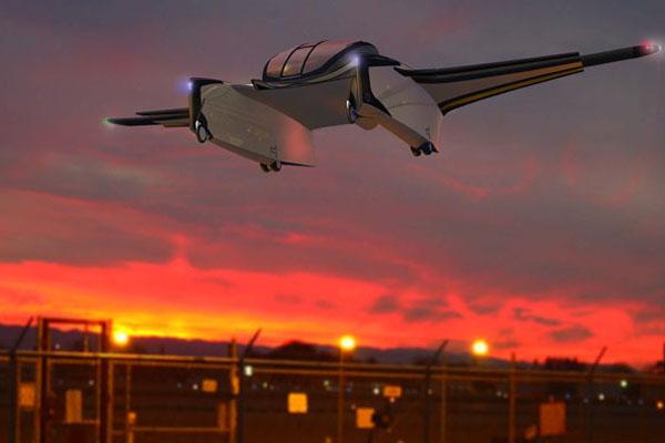 水空两栖的概念飞机(三)