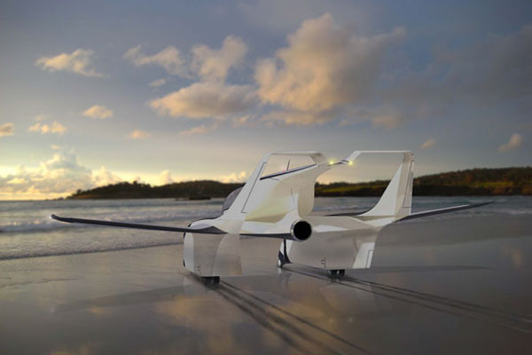 水空两栖的概念飞机(四)