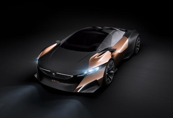 2012peugeot标致玛瑙概念跑车