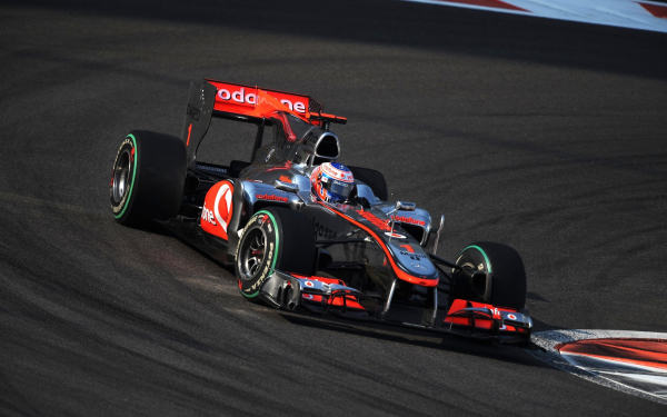 迈凯轮f1方程式赛车图片