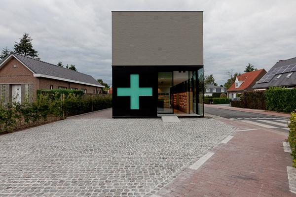 圣马尔滕斯的药店设计