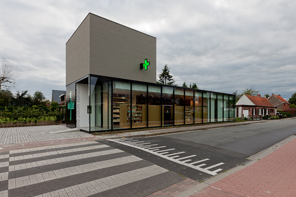 圣马尔滕斯的药店设计(二)