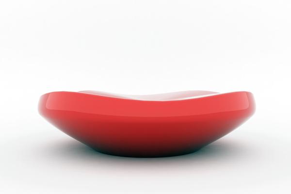 色彩变换的加湿器红色