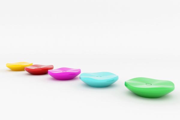 色彩变换的加湿器多色