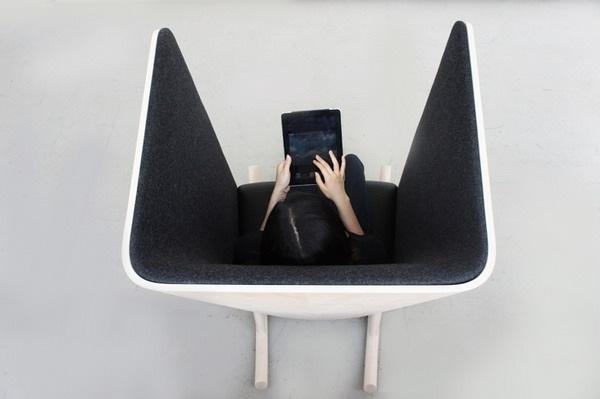 很有个性的一款时尚摇椅