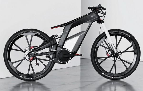 奥迪概念碳纤维自行车(二)