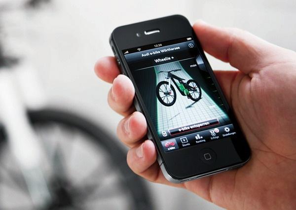 奥迪概念碳纤维自行车(三)