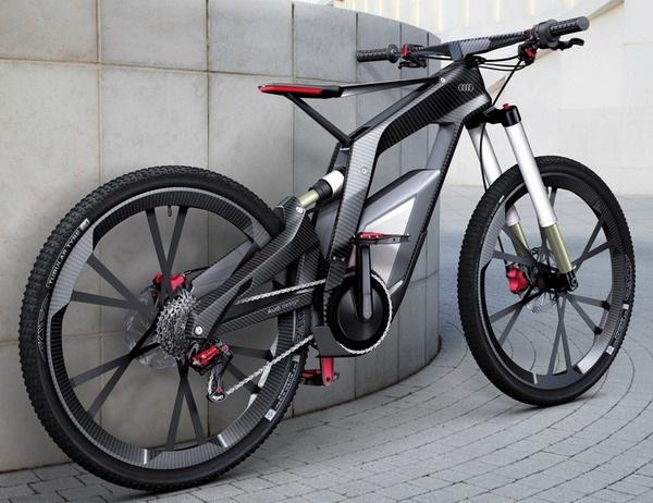 奥迪概念碳纤维自行车(四)