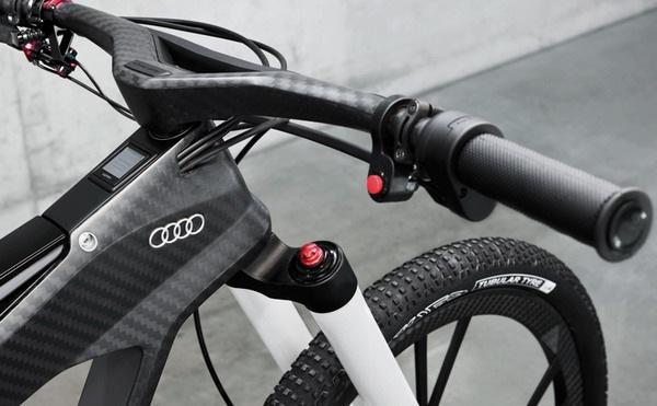奥迪概念碳纤维自行车(六)