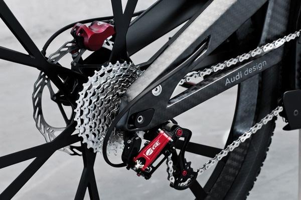 奥迪概念碳纤维自行车(七)