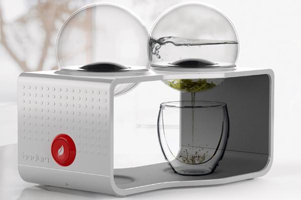 咖啡与茶的冲泡器