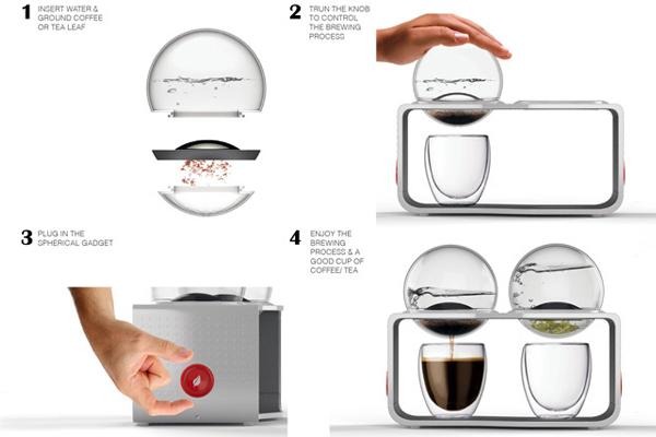 咖啡与茶的冲泡器(四)