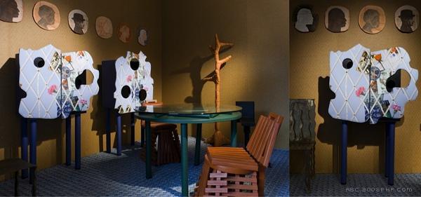 怪异神秘的家具