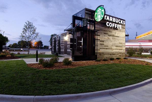 星巴克可移动式咖啡店(二)