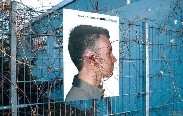 耳鼻毛修剪工具的创意广告(四)