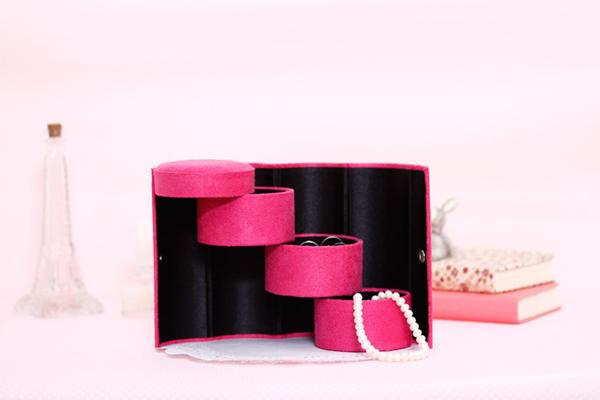 阶梯式的圆筒首饰盒(三)