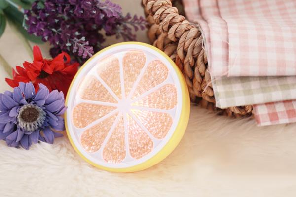 温馨橙子灯