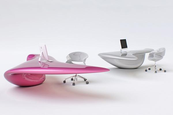 Volna 落地式桌子
