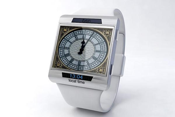 大笨钟样式的手表