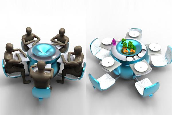 模块化餐桌(二)