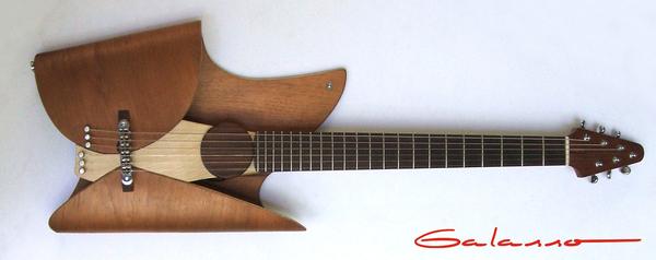 超酷叶片形状的吉他(二)