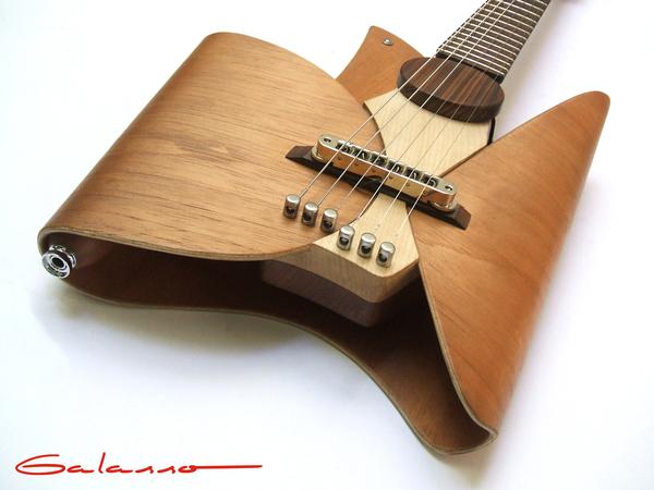 超酷叶片形状的吉他(三)