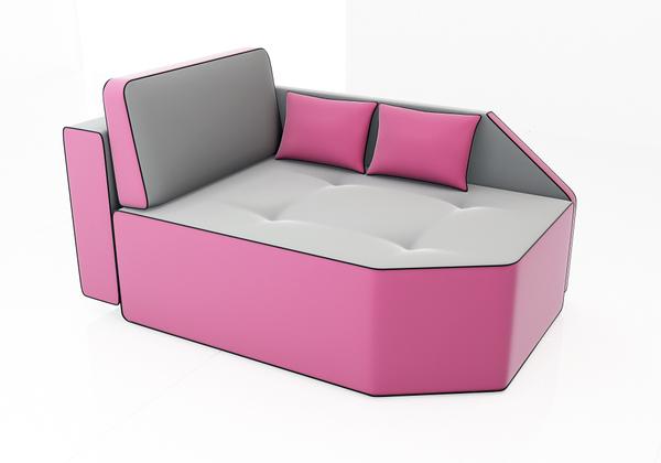 漂亮多变的梦幻沙发