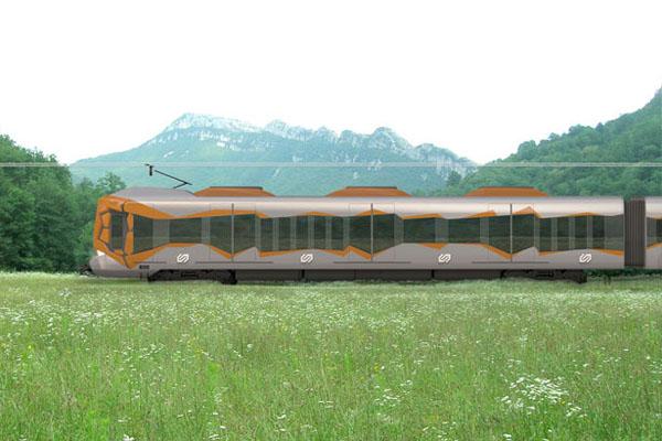 充满艺术风格的火车(三)