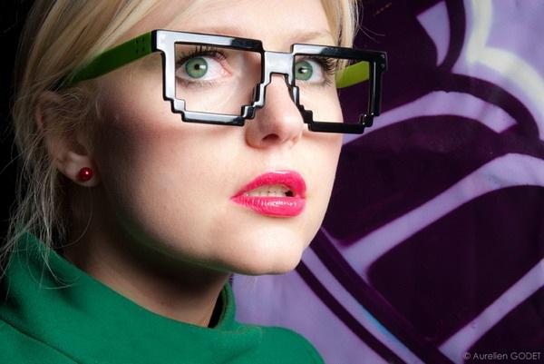 新奇卡哇伊的像素眼镜(二)