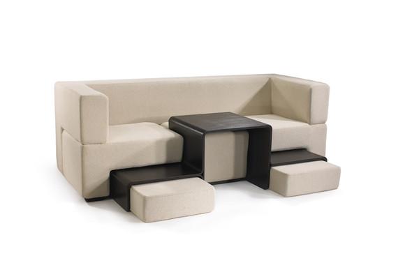 动态插槽组合式沙发