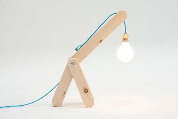 长颈鹿折叠台灯