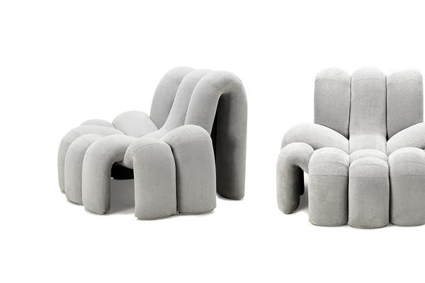 蜘蛛造型的柔软沙发(二)