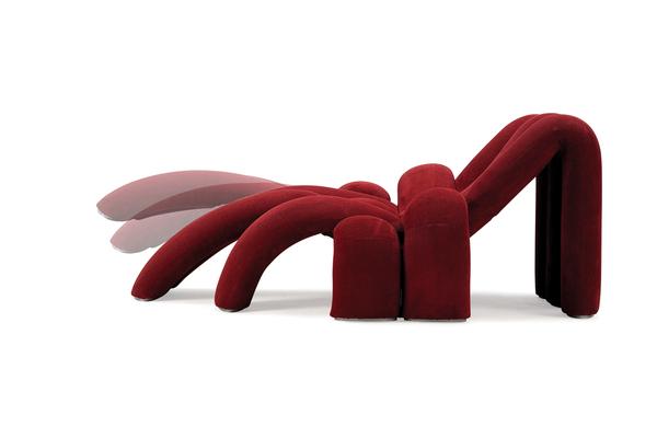 蜘蛛造型的柔软沙发(三)