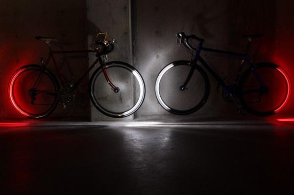 自行车超炫照明灯