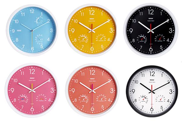 多功能时钟的多种颜色