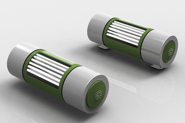 创意设计的小型书灯