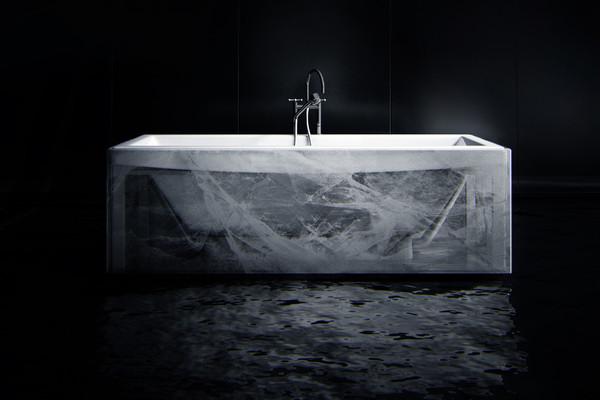 新奇创意的北极浴室设计