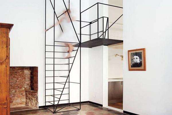 优雅而简约的创意楼梯(二)