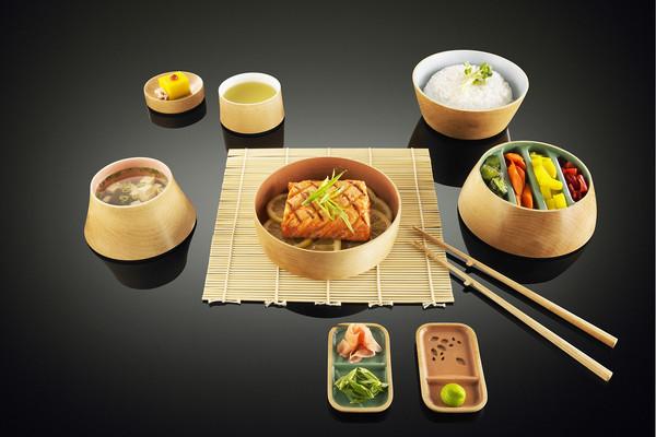 一套完整的禅意餐具(四)