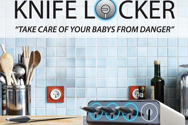 Knife Locke 消毒刀架(三)