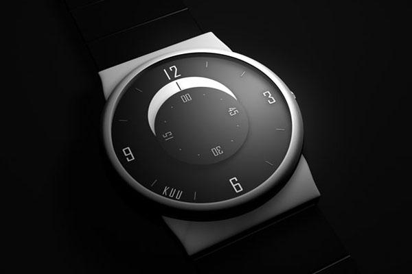 KUU 创意表盘手表
