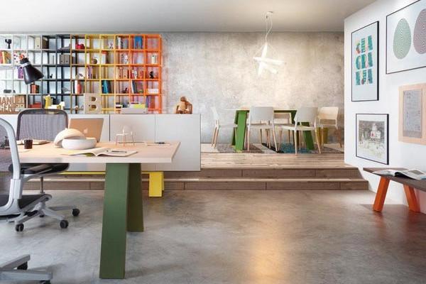 色彩斑斓的创意家具