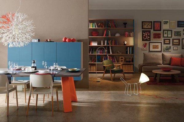 色彩斑斓的创意家具(五)