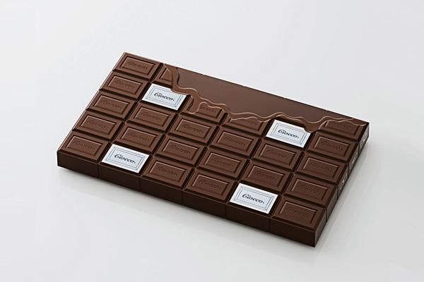 ELECOM 巧克力体重秤棕色