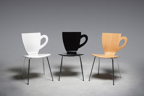 咖啡杯座椅(二)