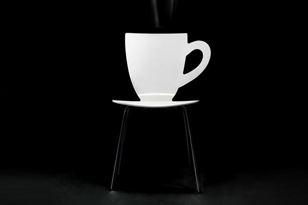 咖啡杯座椅(三)