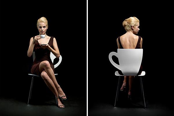咖啡杯座椅(四)