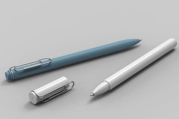 回形针钢笔