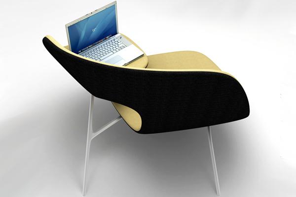为拥抱提供便利的椅子(二)