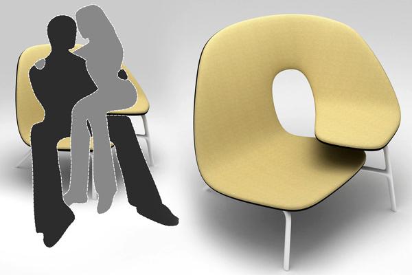 为拥抱提供便利的椅子(三)